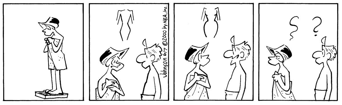 Arlo and Janis Comic Strip for June 07, 2000
