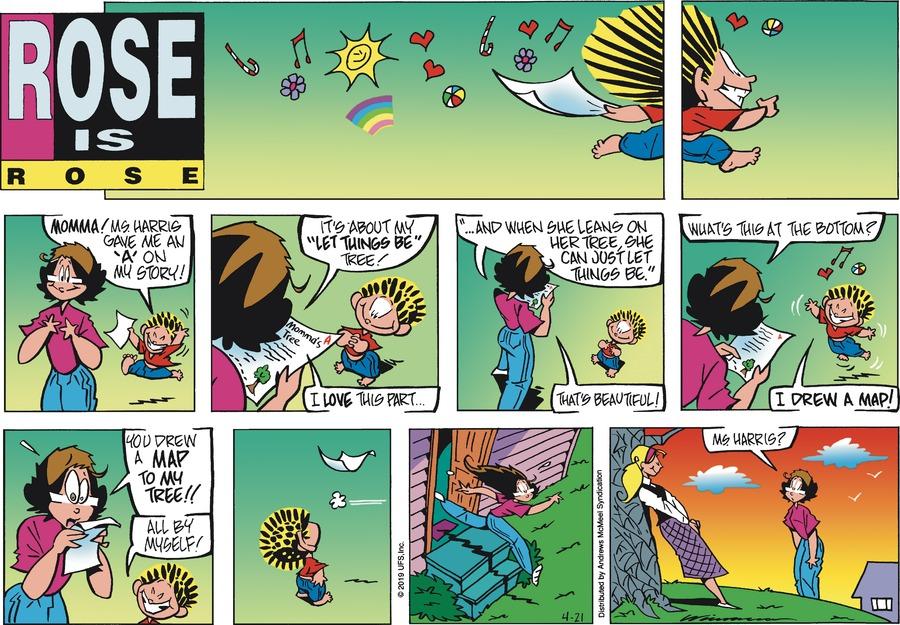 Rose is Rose Comic Strip for April 21, 2019