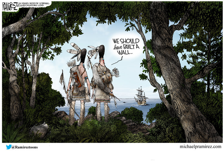 Michael Ramirez Comic Strip for November 28, 2019