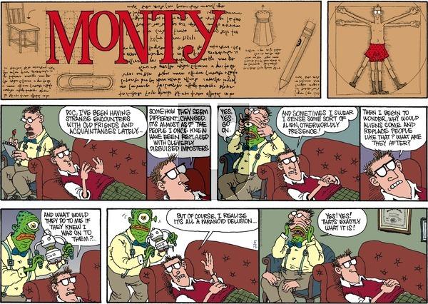 Monty on Sunday May 12, 2013 Comic Strip