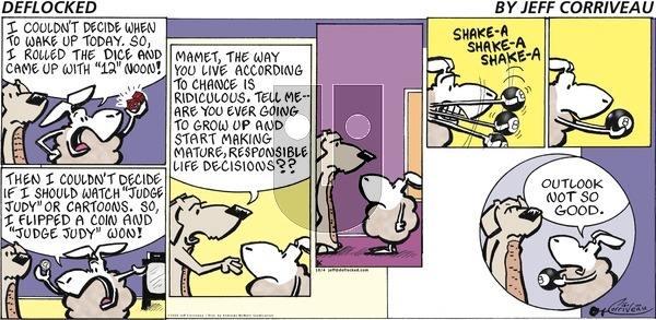 DeFlocked - Sunday October 4, 2020 Comic Strip