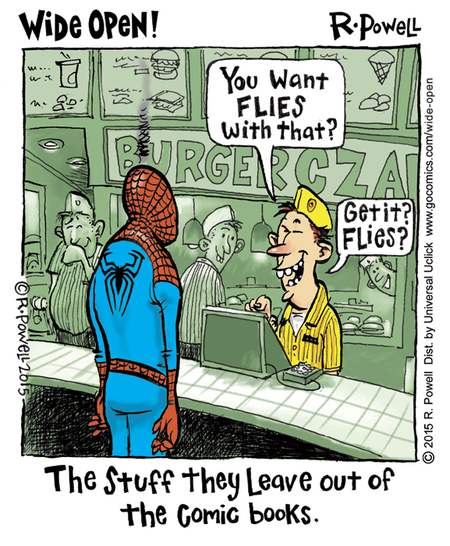 Wide Open Comic Strip for January 29, 2015