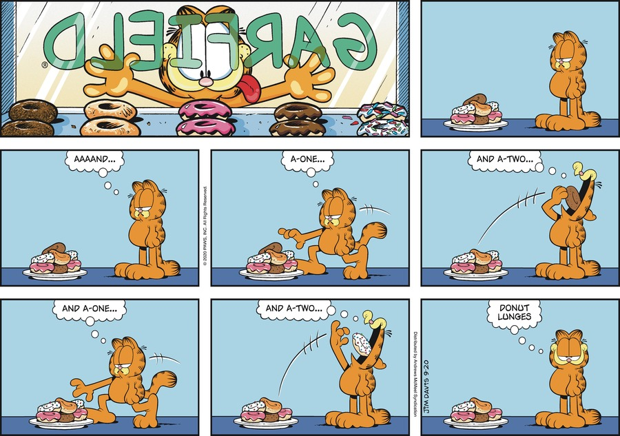 Garfield Comic Strip for September 20, 2020