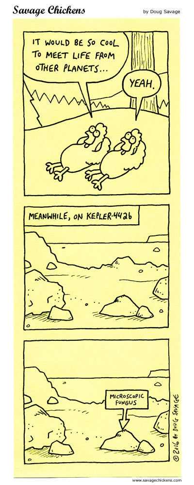 Savage Chickens Comic Strip for February 06, 2020