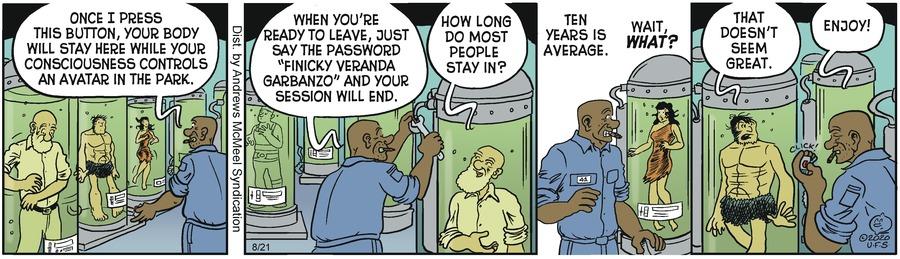 Alley Oop Comic Strip for August 21, 2020