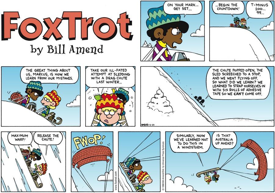 FoxTrot for Dec 27, 1998 Comic Strip