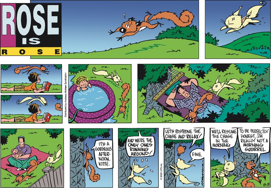 Rose is Rose Comic Strip for August 09, 2020