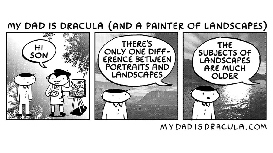 My Dad is Dracula Comic Strip for November 21, 2020