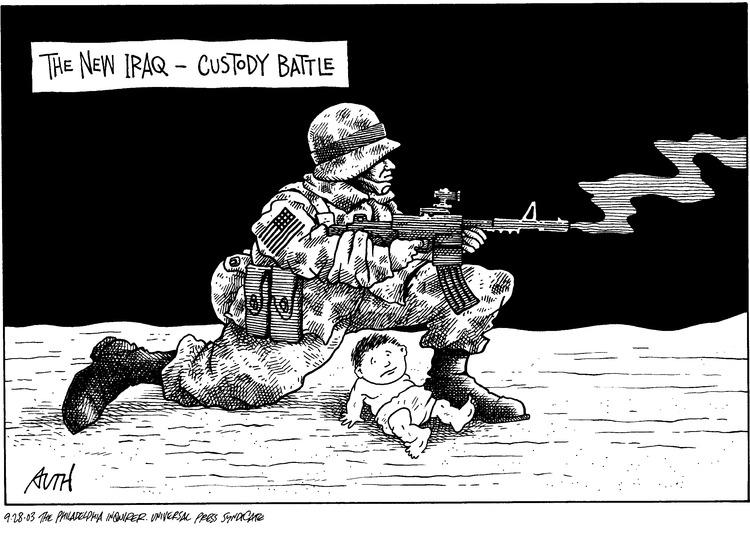 The new Iraq - custody battle