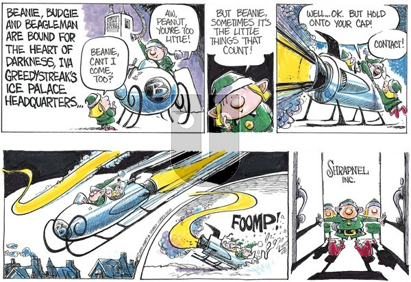 Beanie the Brownie on Saturday December 21, 2019 Comic Strip