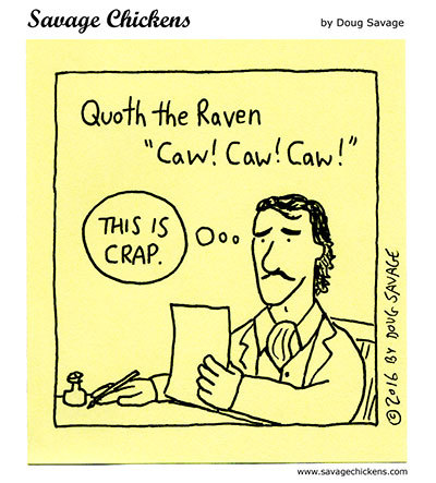 Savage Chickens Comic Strip for August 05, 2020