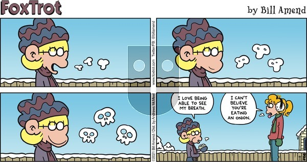 FoxTrot on Sunday January 17, 2021 Comic Strip