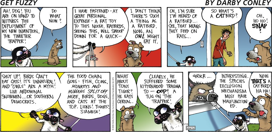 Get Fuzzy Comic Strip for January 13, 2019