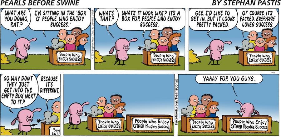 Pearls Before Swine Comic Strip for October 26, 2014