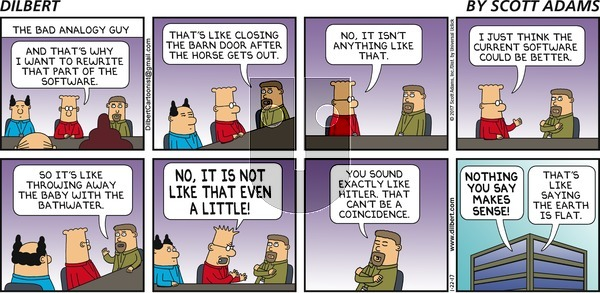 Dilbert - Sunday January 22, 2017 Comic Strip