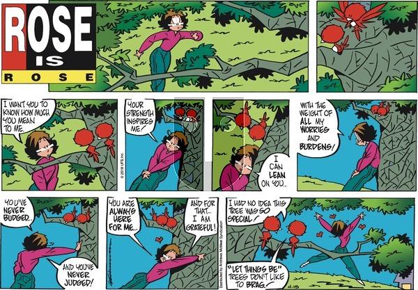 Rose is Rose - Sunday April 15, 2018 Comic Strip