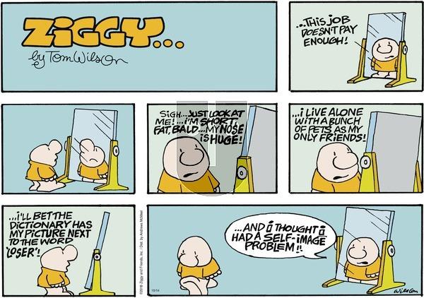 Ziggy on Sunday October 14, 2018 Comic Strip