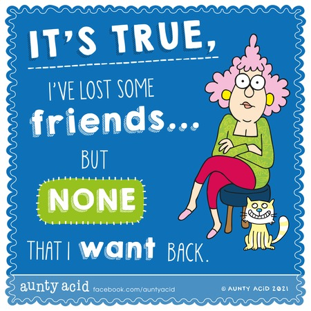 Aunty Acid Comic Strip for May 23, 2021
