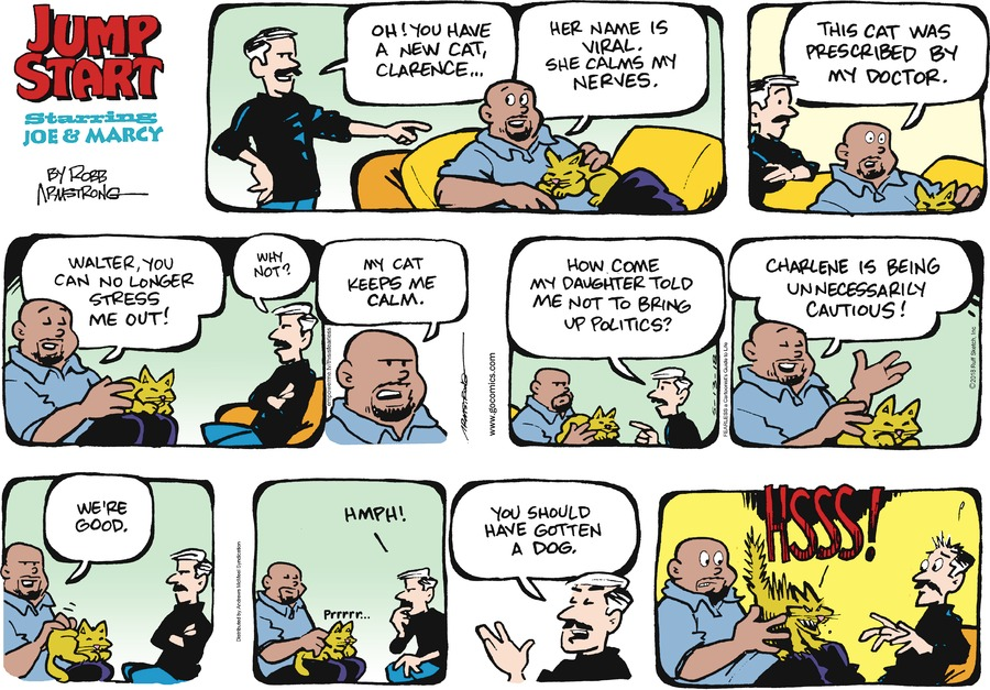 JumpStart for May 13, 2018 Comic Strip