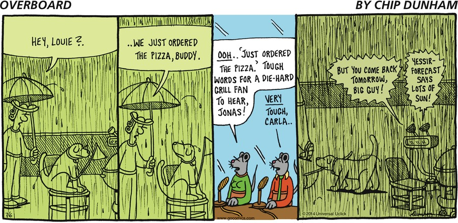 Overboard for Jul 6, 2014 Comic Strip