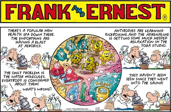 Frank and Ernest on Sunday March 22, 2015 Comic Strip