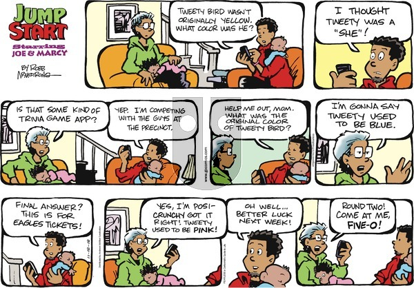 JumpStart on Sunday November 18, 2018 Comic Strip