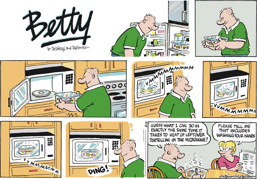 Betty by Gary Delainey and Gerry Rasmussen for May 12, 2019