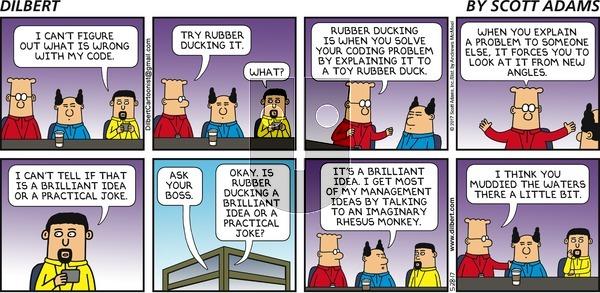 Dilbert - Sunday May 28, 2017 Comic Strip