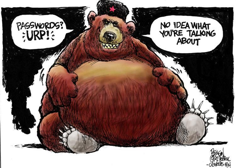 Steve Benson Comic Strip for August 08, 2014
