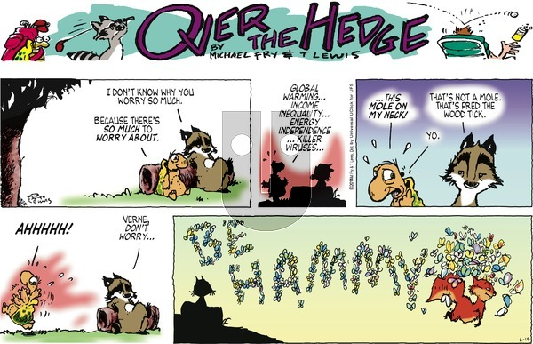 Over the Hedge on Sunday June 15, 2014 Comic Strip