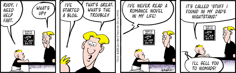 Rudy Park Comic Strip for July 31, 2021
