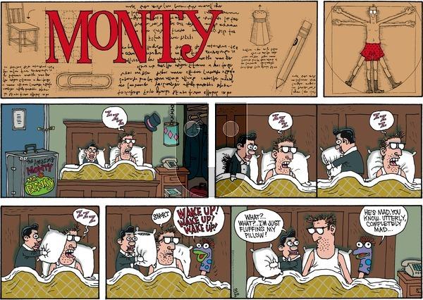 Monty on Sunday October 20, 2013 Comic Strip