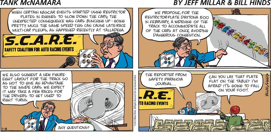Tank McNamara for Nov 18, 2012 Comic Strip