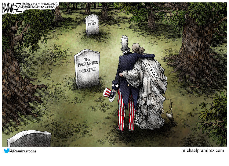 Michael Ramirez Comic Strip for October 01, 2018