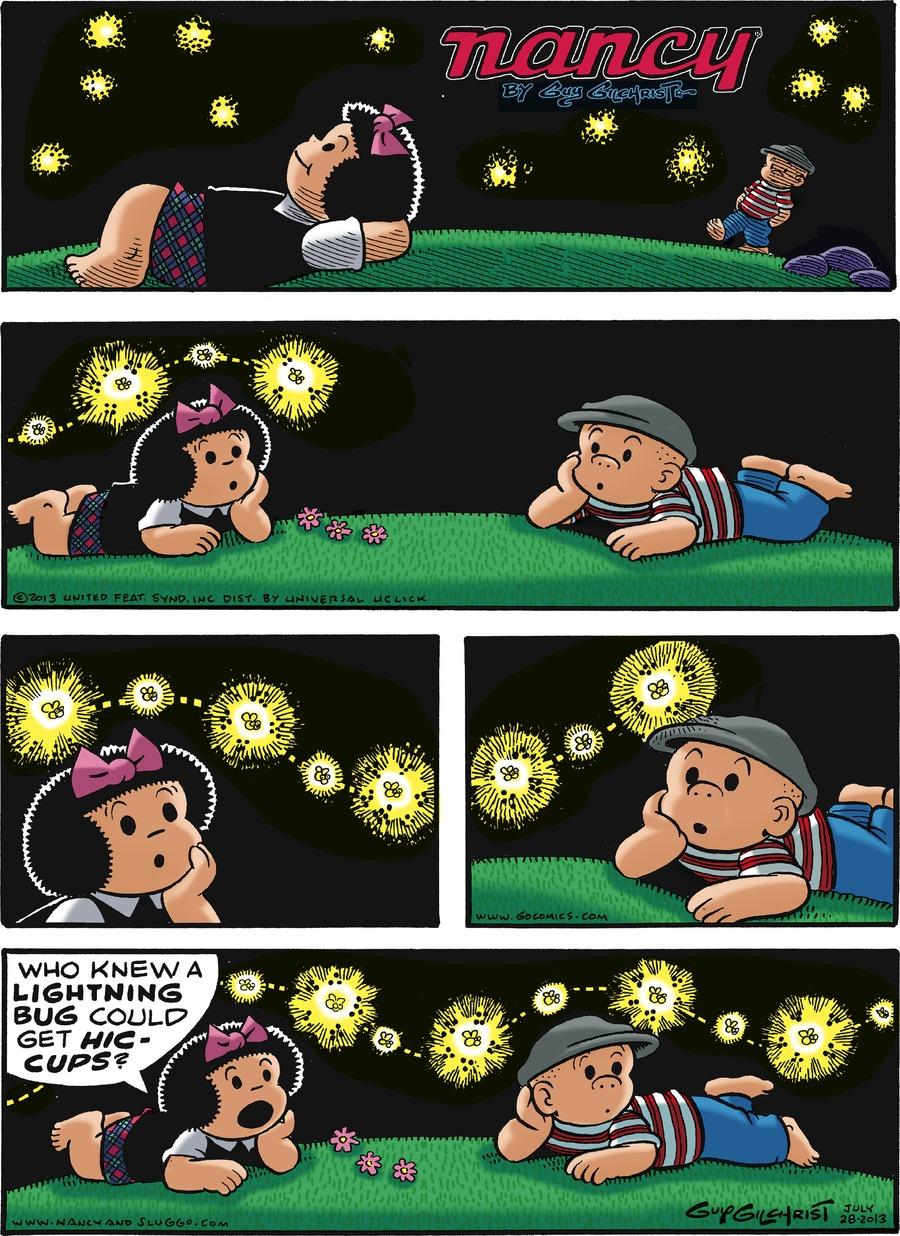 Nancy for Jul 28, 2013 Comic Strip