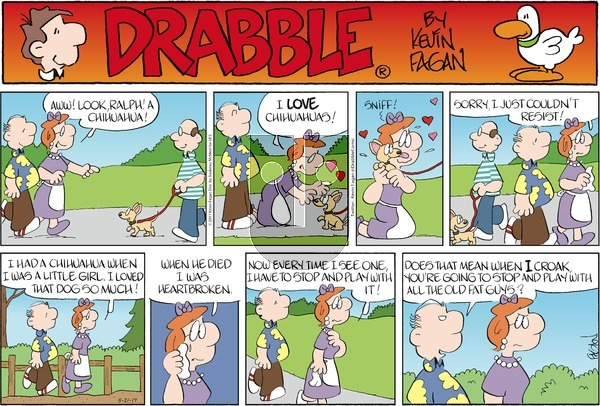 Drabble on Sunday May 21, 2017 Comic Strip