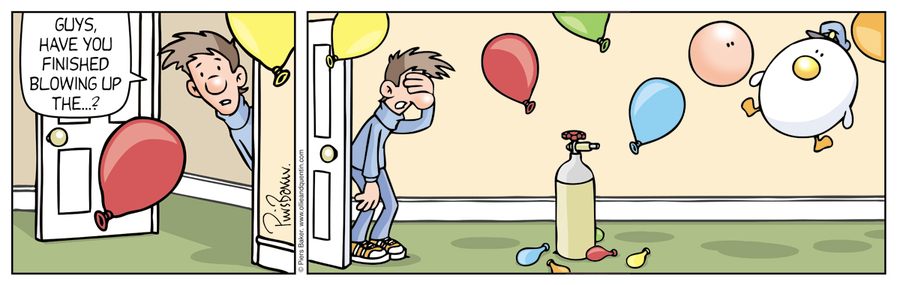 Ollie and Quentin Comic Strip for March 30, 2020