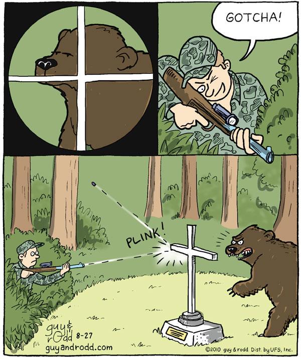 Hunter: Gotcha!