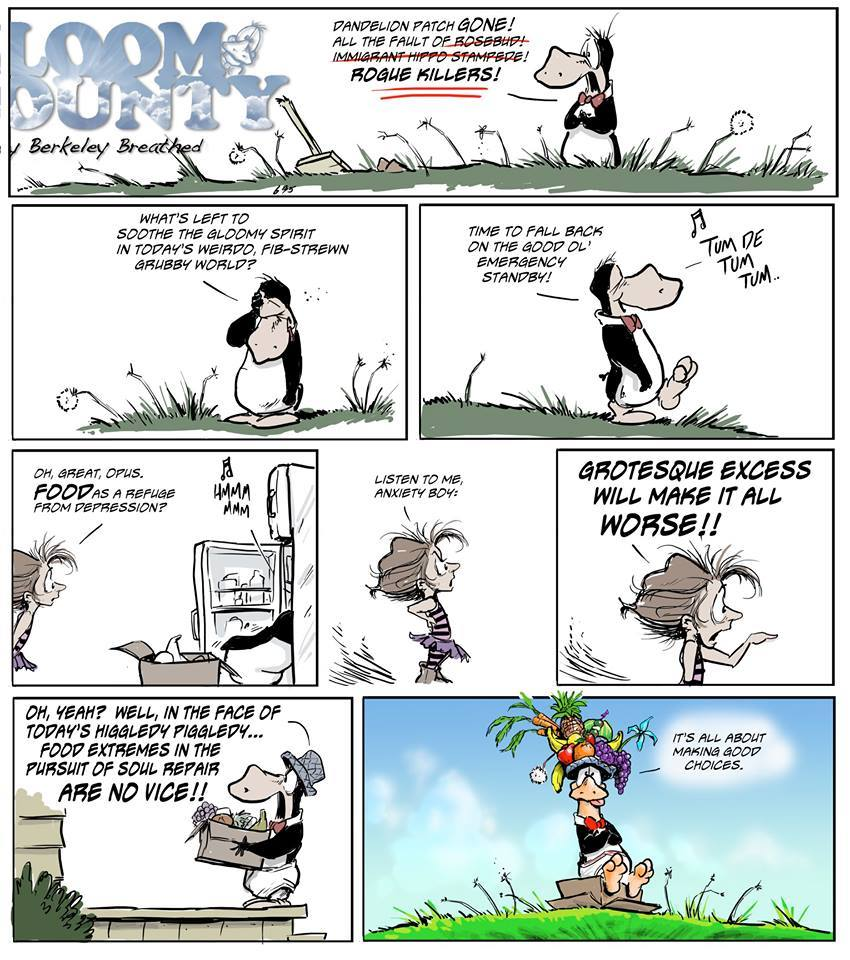 Bloom County 2018 by Berkeley Breathed for October 24, 2018