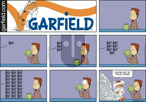 Garfield on Sunday June 30, 2019 Comic Strip