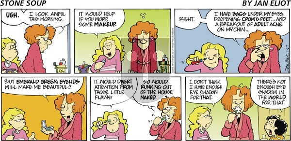 Stone Soup on Sunday November 27, 2005 Comic Strip