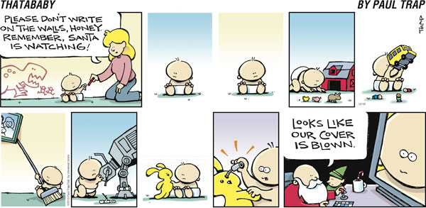Thatababy for Dec 19, 2010 Comic Strip