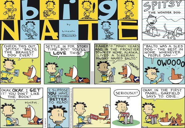 Big Nate on Sunday August 12, 2018 Comic Strip