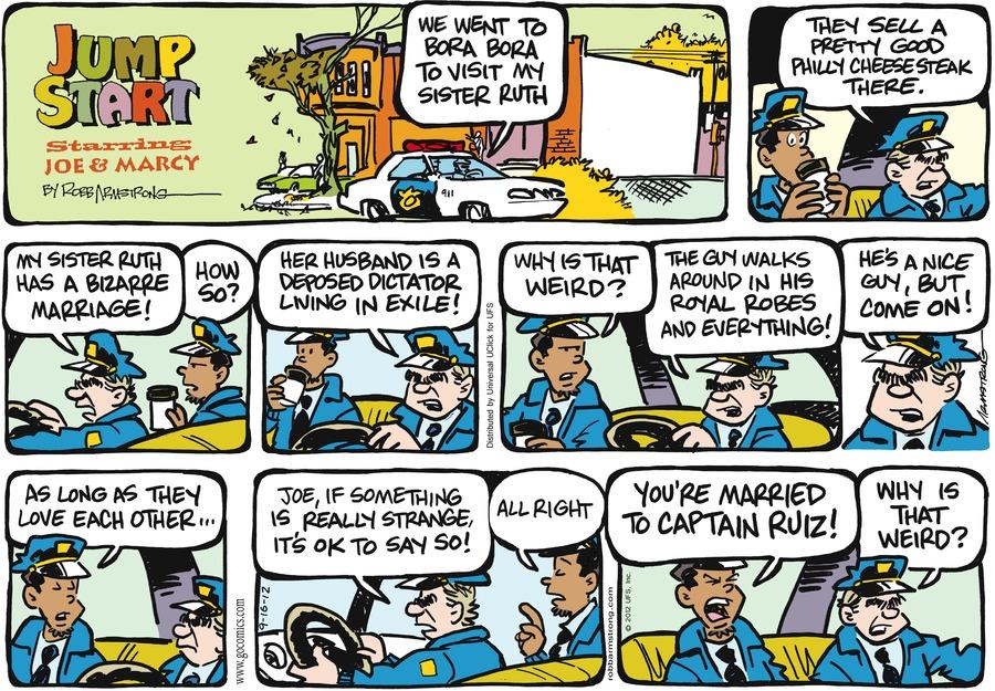 JumpStart for Sep 16, 2012 Comic Strip