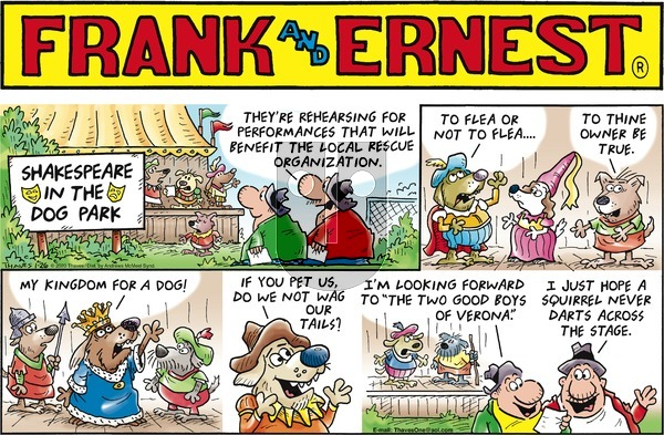 Frank and Ernest on Sunday January 26, 2020 Comic Strip