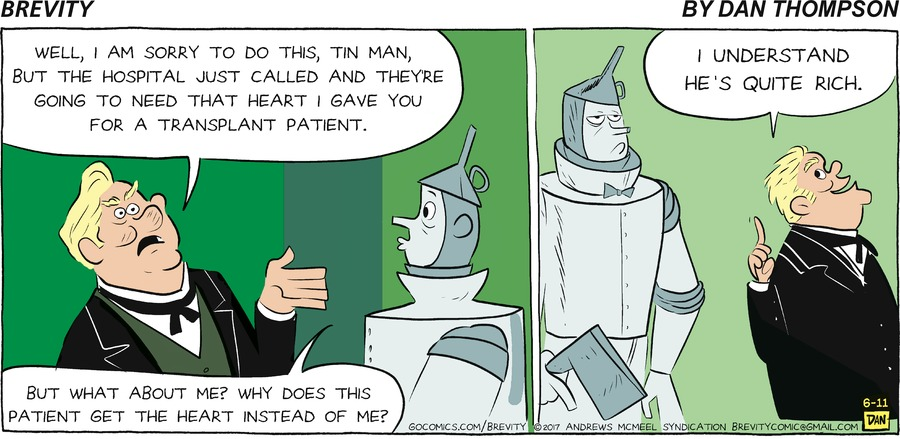 Brevity Comic Strip for June 11, 2017