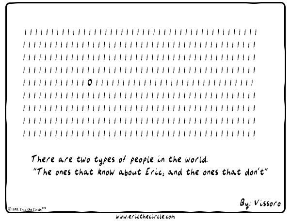 Eric the Circle Comic Strip for February 23, 2013