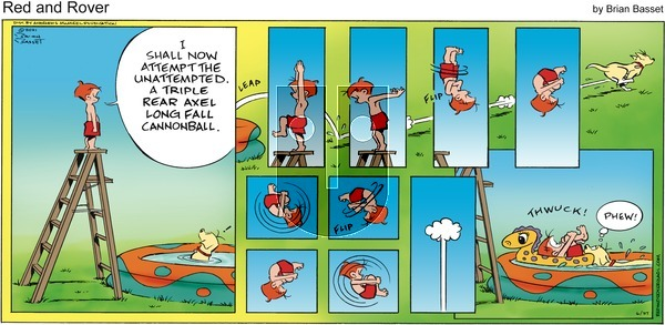Red and Rover on Sunday June 27, 2021 Comic Strip
