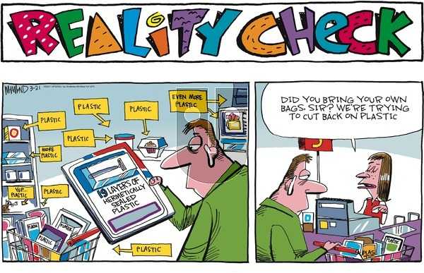 Reality Check - Sunday March 21, 2021 Comic Strip