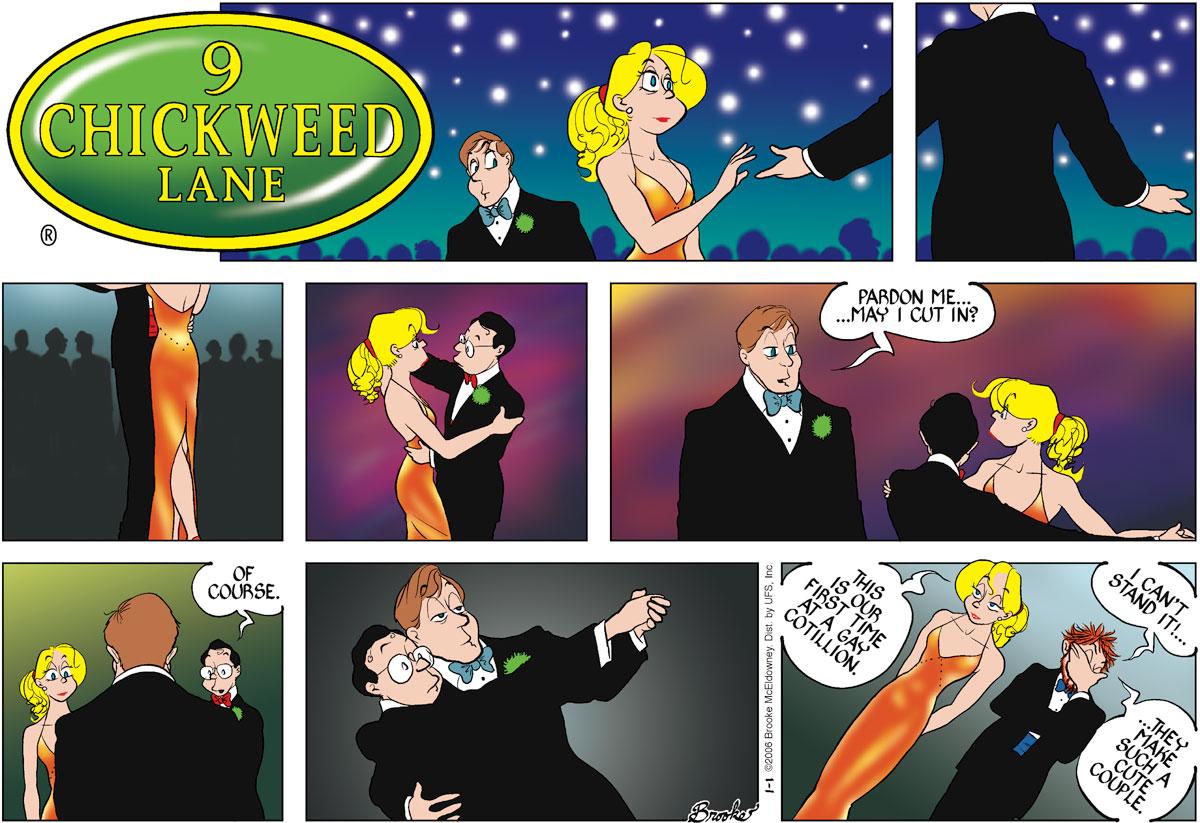 9 Chickweed Lane for Jan 1, 2006 Comic Strip
